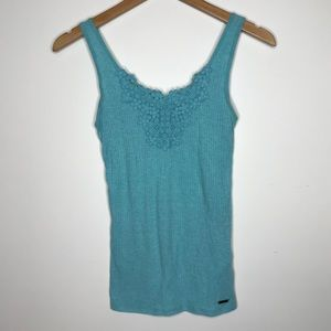 Hollister Floral Tank Size Small